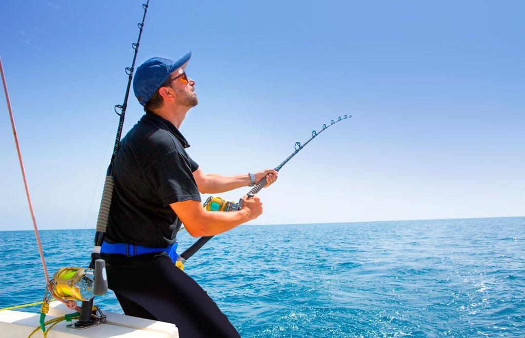 аренда снастей для морской рыбалки